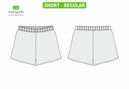 Short fotbal la comanda