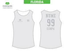 Tricou baschet femei personalizat Florida