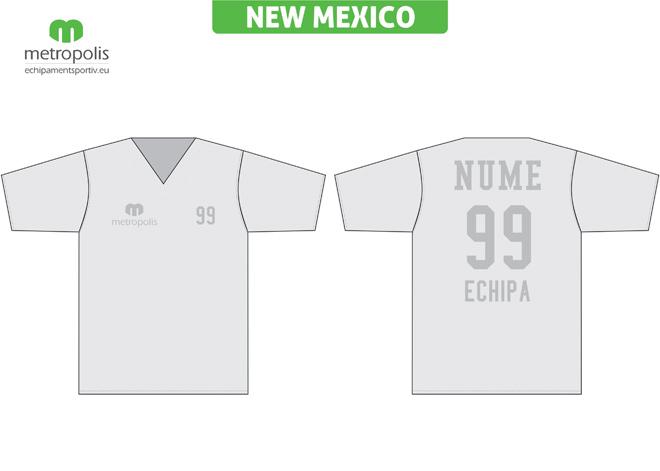 Echipament baschet: tricouri New Mexico