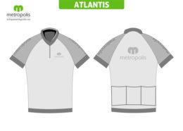Tricou ciclism Atlantis