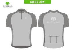 Tricou ciclism Mercury