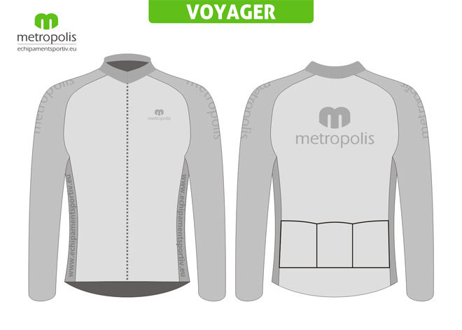 Tricou ciclism Voyager